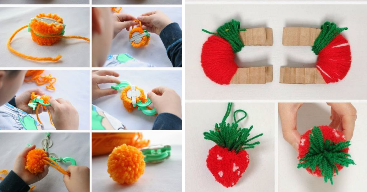 Comment Faire Les Pompons Fruits