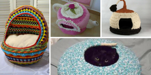 Crochet chat grotte