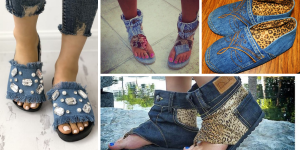 Comment Customizer Jeans en Sandales