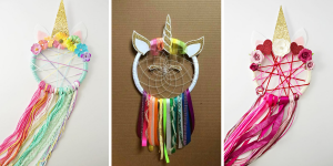 DIY – Attrape rêves Licorne