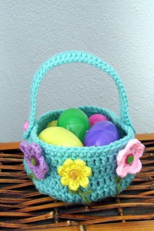 Tricot et CoutureTuto Panier Lapin de Pâques au Crochet