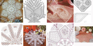 10 Patrons de Crochet Gratuit Chemin de Table