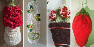 Support de Sac Plastique au Crochet