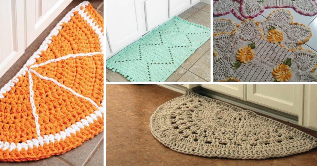 20 Tapis De Cuisine Au Crochet