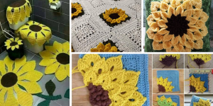 Tuto Facile Tournesol ao Crochet