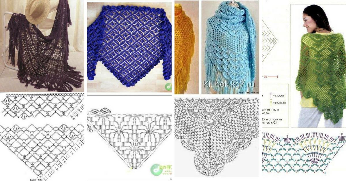 10+ Tutoriel Crochet Beau Châle a62a9c546c65