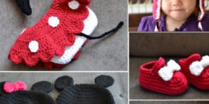 Minnie Mouse Tuto Crochet Facile