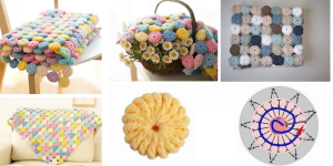 Comment Faire Point de Fleur yo-yo en crochet