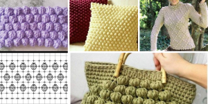 Comment faire point pop corn au crochet