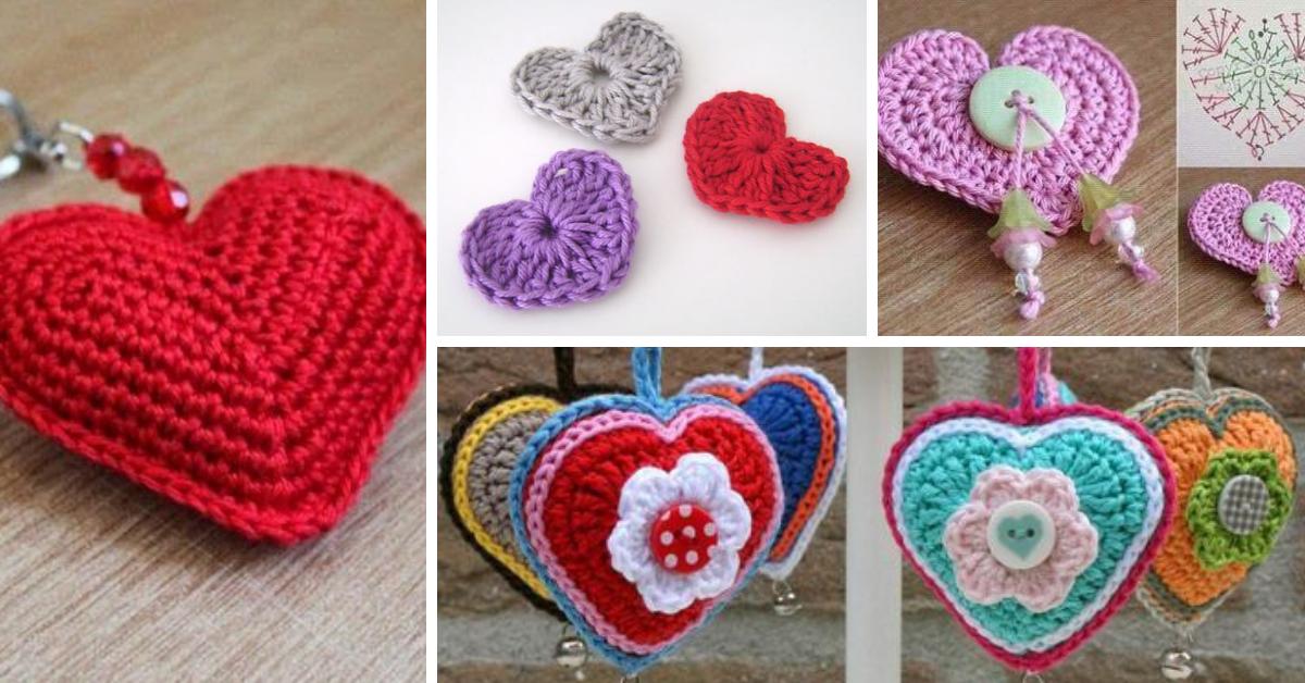 Faire Un Coeur Au Crochet